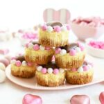 Mini Valentine's Cheesecakes