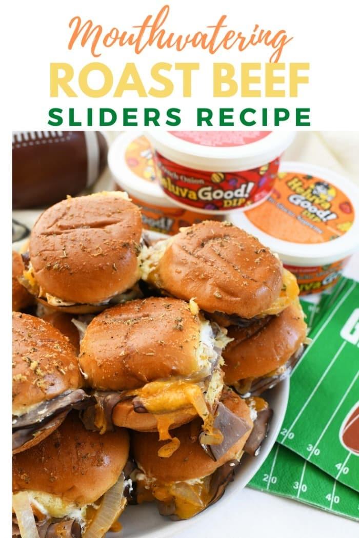 The BEST Roast Beef Sliders EVER!