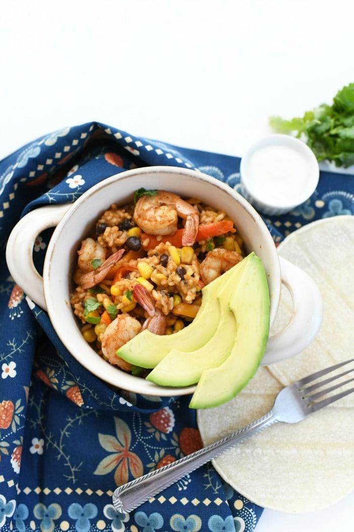 One-Pot Mexican Shrimp