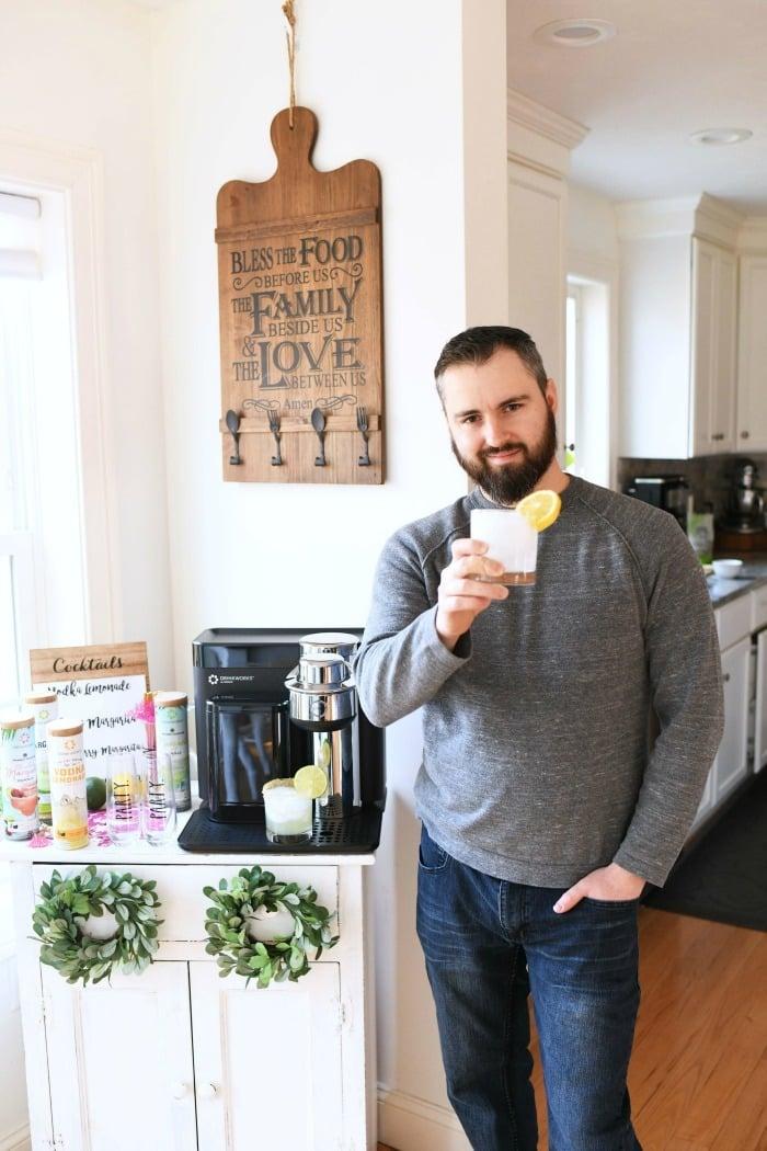 Drinkworks home cocktail maker