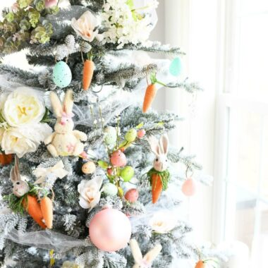 Farmhouse Easter Tree