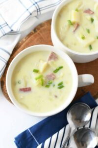 Spiral Ham Potato Soup