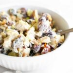 Chicken Salad with Grapes, Cranberries, & Walnuts
