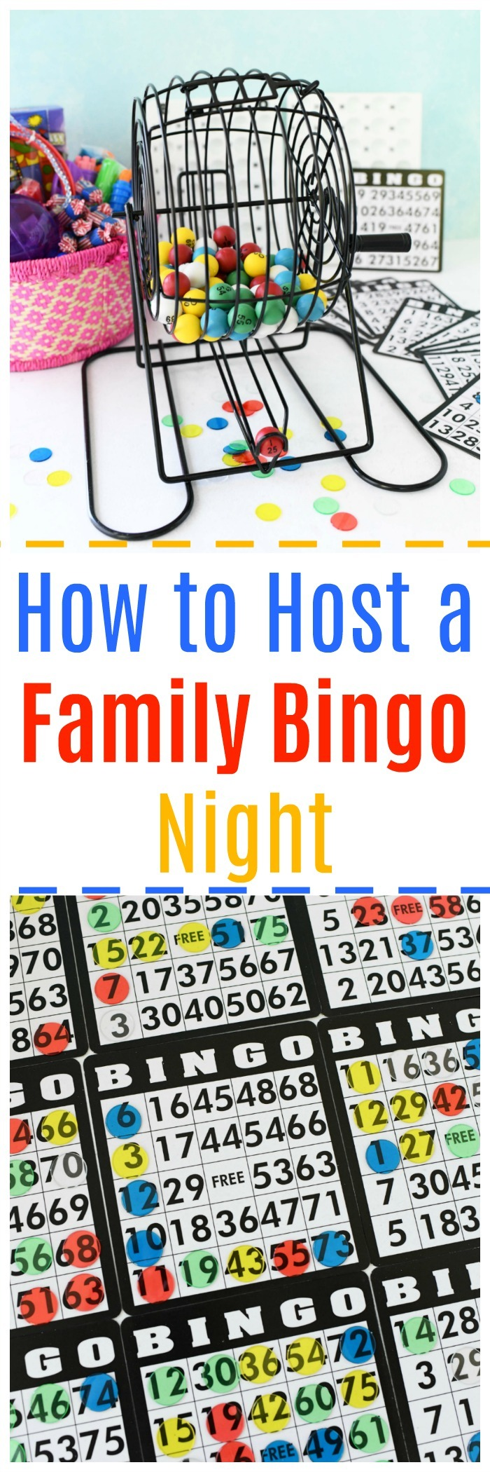 How to Host a Family Bingo Night
