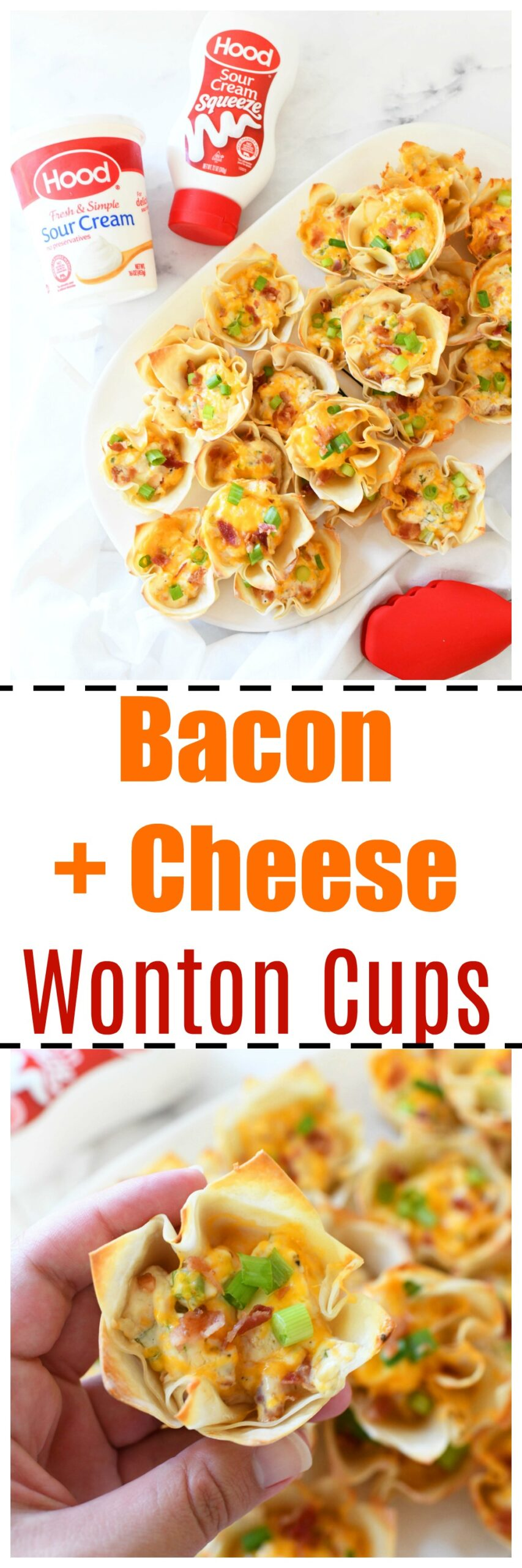 Bacon & Cheese Wontons