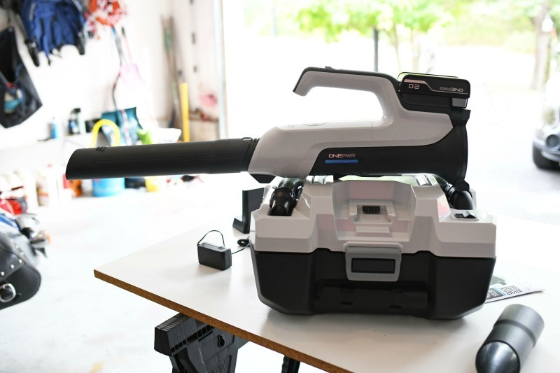 Hoover One PWR products on a white table.