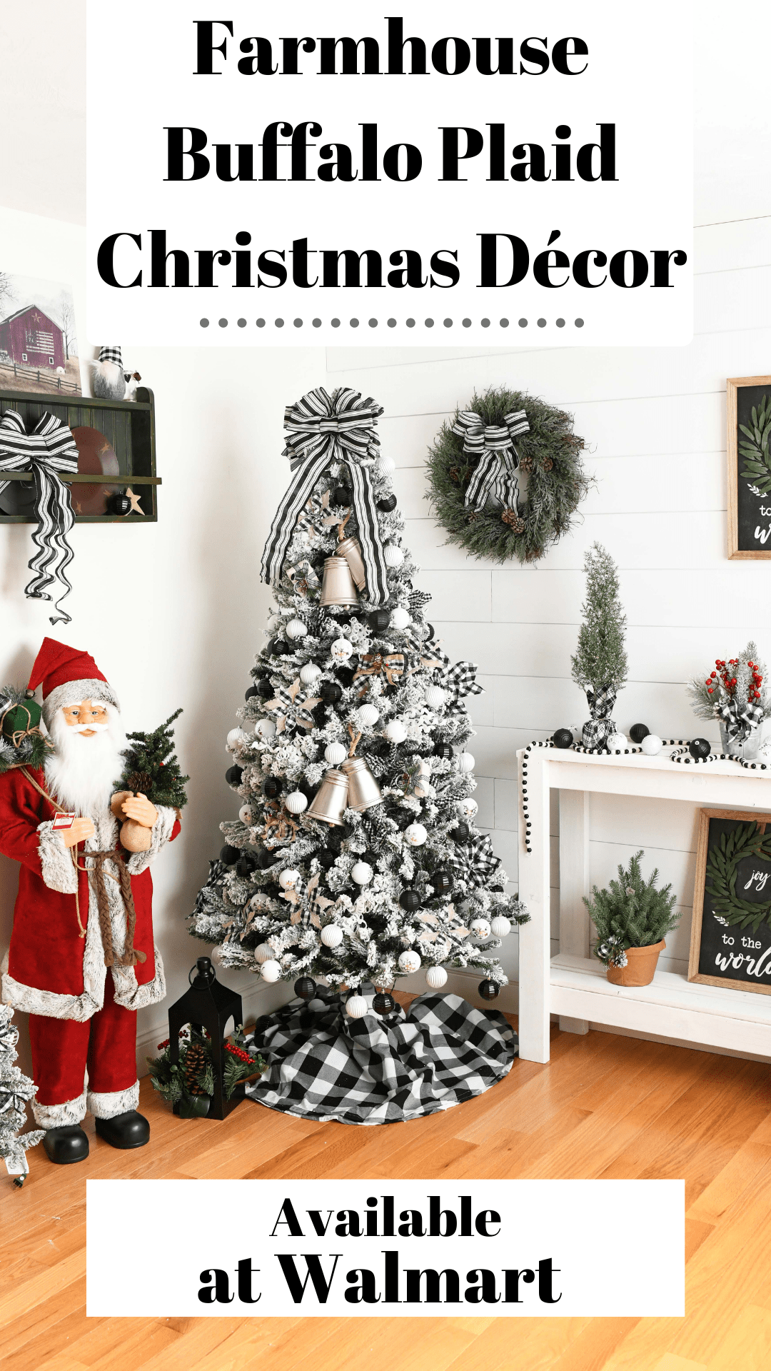 Buffalo Plaid Christmas Decor Ideas Savvy Saving Couple