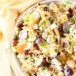 Chicken Bowtie Pasta Salad
